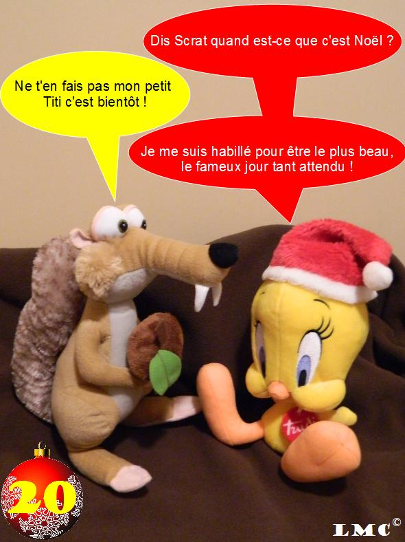 Calendrier de l'avent Spécial Le Monde Collectionne ! - Page 2 Titi_e10