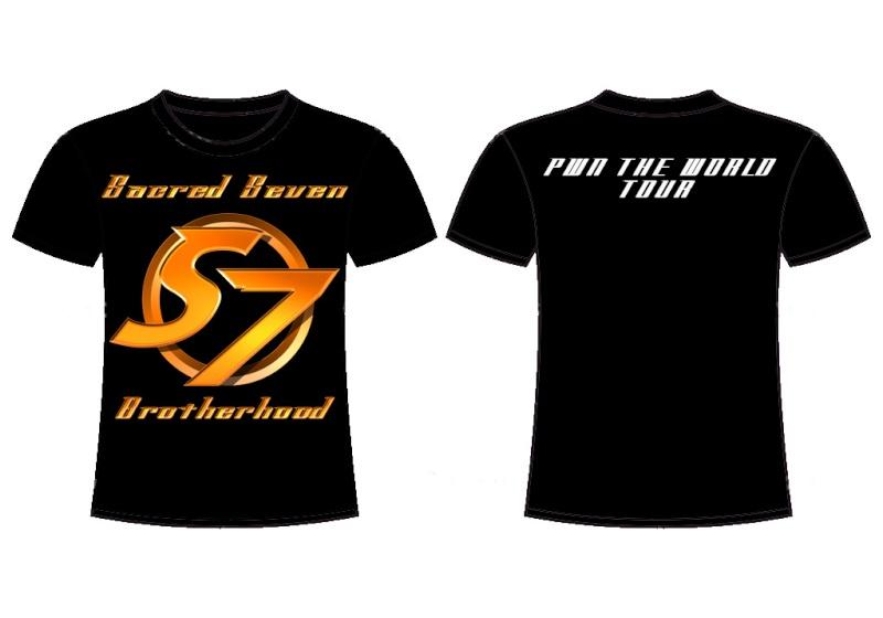 Sacred Seven T-Shirt  Sacred10