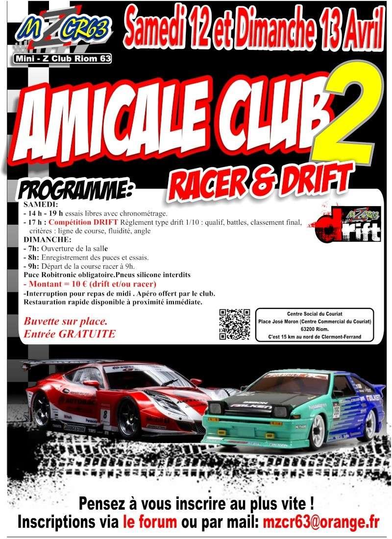 Course amicale racer et drift à Riom 63 les 12 et 13 avril Amical15