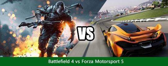 Disputas de Jogos #1 - Battlefield 4 x Forza Motorsport 5 Disput10