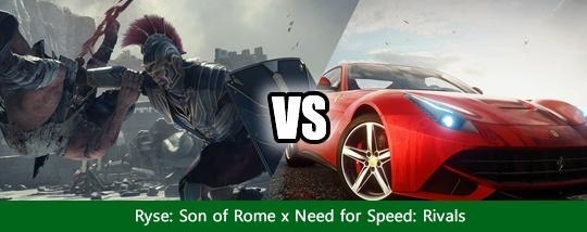 Disputas de Jogos #3 - Ryse: Son of Rome x Need for Speed: Rivals Disput12