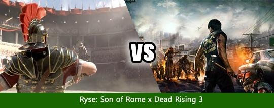Disputa de Jogos #6 - Ryse: Son of Rome x Dead Rising 3 Disput15