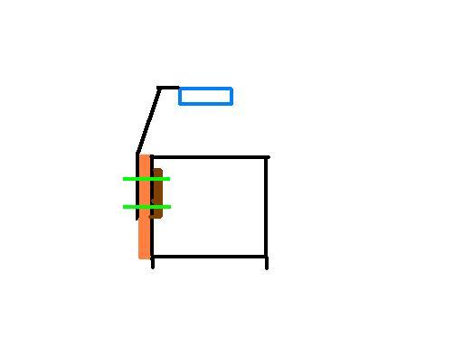 perçage dans support métalique Croqui10