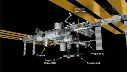 Lancement & fin de mission Progress M-22M  Capt_h14
