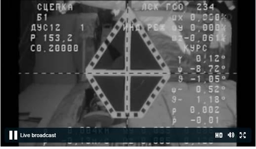 Lancement & fin de mission Progress M-22M  Capt_h15