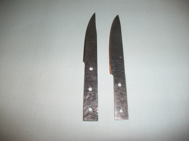 Some of my Knives Forged11