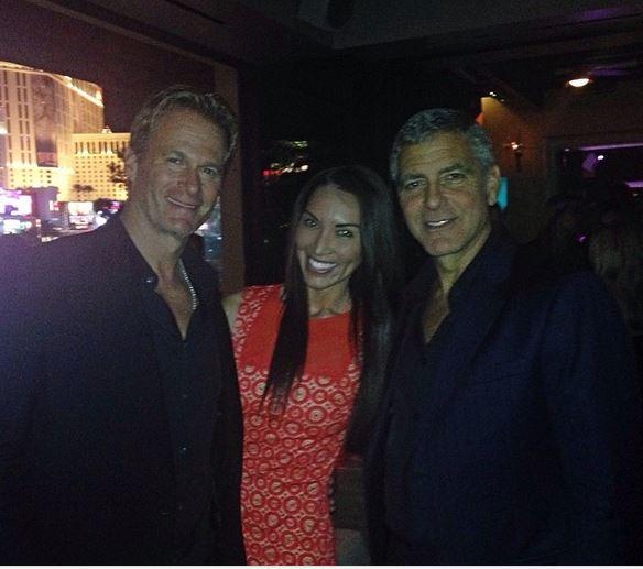 New Sighting - George Clooney Casamigos Function Las Vegas (the Venetian) April 9 2014 Captur10