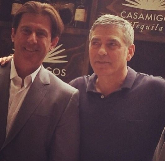 New Sighting - George Clooney Casamigos Function Las Vegas (the Venetian) April 9 2014 - Page 2 Captur11