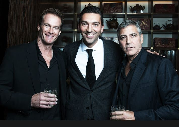 New Sighting - George Clooney Casamigos Function Las Vegas (the Venetian) April 9 2014 - Page 2 Captur14
