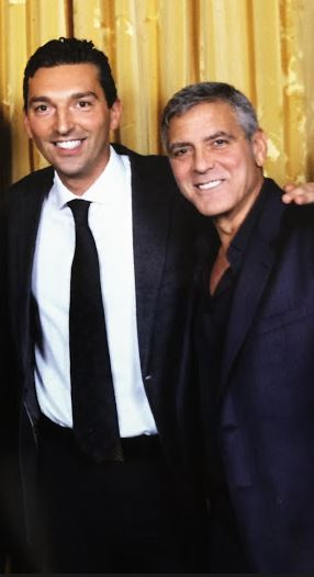 New Sighting - George Clooney Casamigos Function Las Vegas (the Venetian) April 9 2014 - Page 2 Captur15