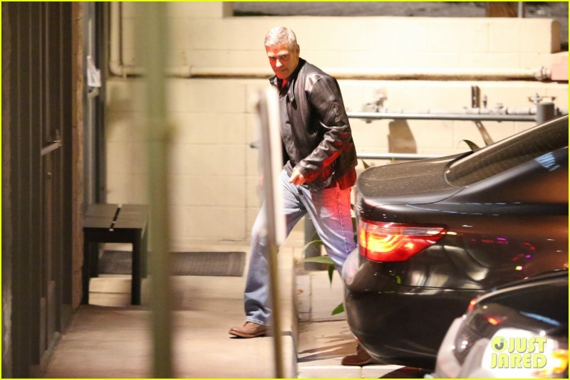 George Clooney and Amal Alamuddin on Double Date Ccc11