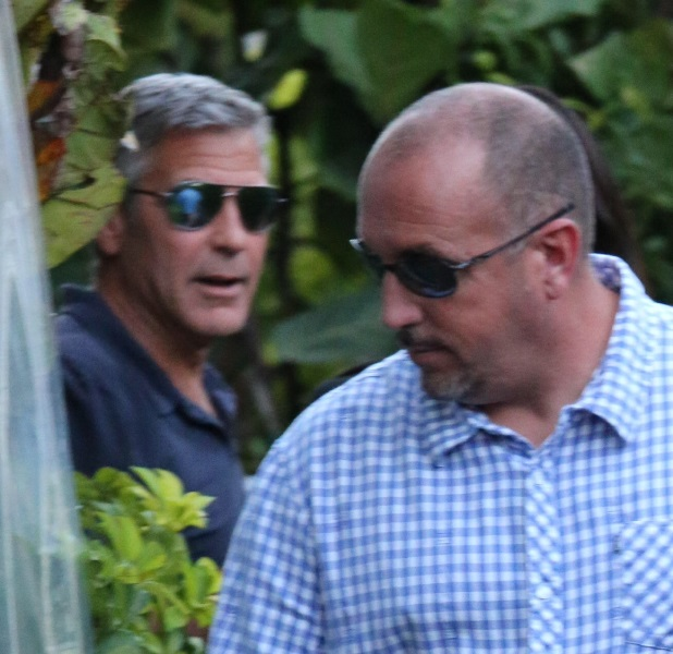 George Clooney & Amal Alamuddin Celebrate Their Engagement Surrounded By Celebrity Friends! Done1510