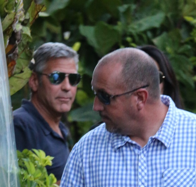 George Clooney & Amal Alamuddin Celebrate Their Engagement Surrounded By Celebrity Friends! Done1610