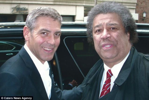 Meet the world's biggest celeb spotter who has had his photo taken - George Clooney Fan10