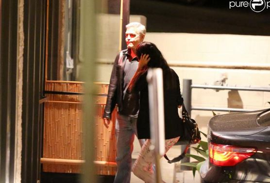 George Clooney and Amal Alamuddin on Double Date Fff210