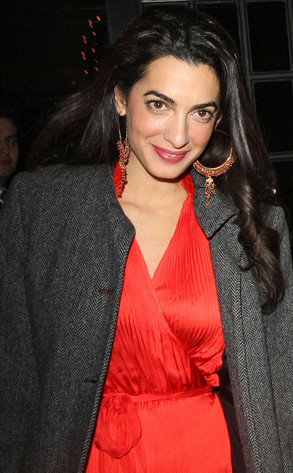 George Clooney's Mystery Woman Revealed: 5 Things to Know Amal Alamuddin G110