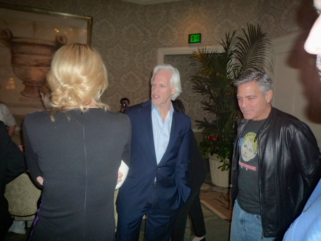 Photos/Videos: Press Junket for George Clooneys' Monuments Men in LA, 16 Jan - Page 2 Gg23