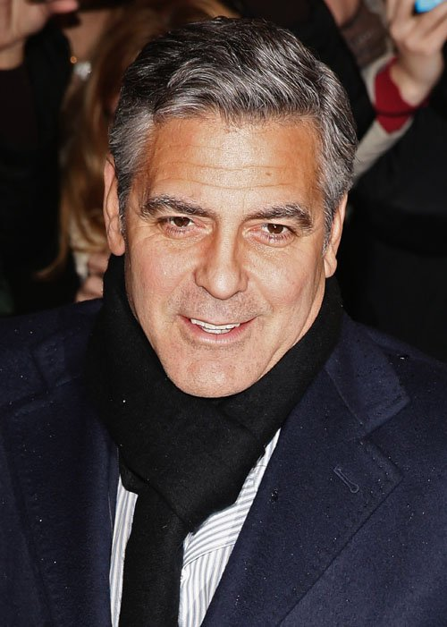 George Clooney at the Monuments Men Red Carpet Premiere - Milan  Ggg112