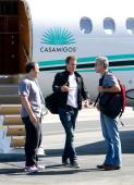 George Clooney leaving hotel in NYC Ggg210