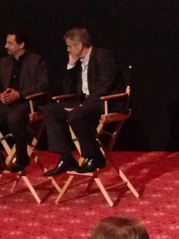 George Clooney at the AFI film fest, 8 Nov 2013, at a screening of August Osage County Ggg410