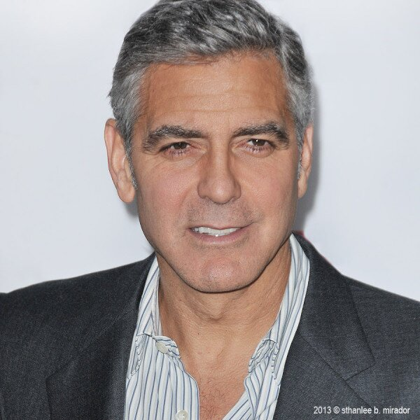 George Clooney at the AFI film fest, 8 Nov 2013, at a screening of August Osage County Ggg510