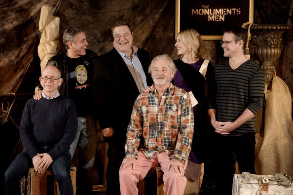 Photos/Videos: Press Junket for George Clooneys' Monuments Men in LA, 16 Jan - Page 2 Gggg110