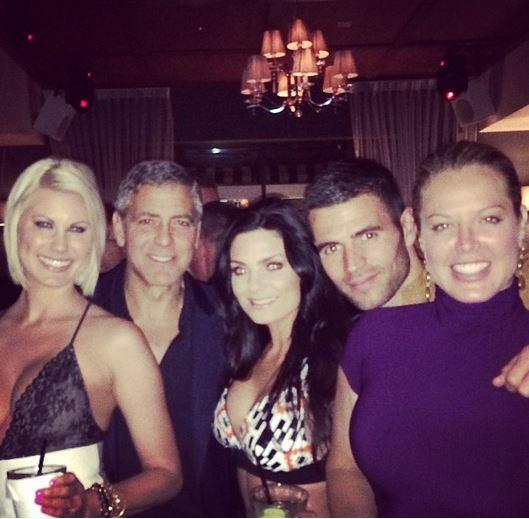 New Sighting - George Clooney Casamigos Function Las Vegas (the Venetian) April 9 2014 Gggg111