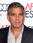 George Clooney at the AFI film fest, 8 Nov 2013, at a screening of August Osage County La110