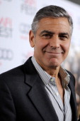 George Clooney at the AFI film fest, 8 Nov 2013, at a screening of August Osage County La210