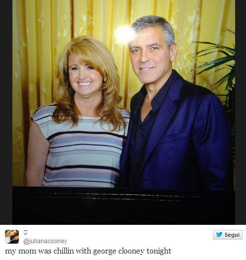 New Sighting - George Clooney Casamigos Function Las Vegas (the Venetian) April 9 2014 Mom10