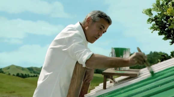 Video: Gerge Clooney advertising Kirin Green Label Beer Rr11