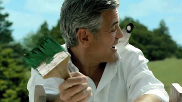 Video: Gerge Clooney advertising Kirin Green Label Beer Rr210