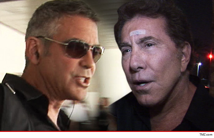 The George Clooney and Steve Wynn argument Tmz10