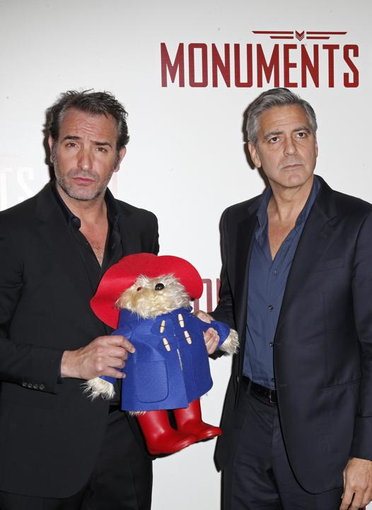 George Clooney at Monuments Men press conference & photocall in Paris Tt10