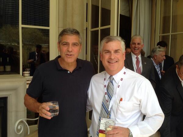 New Sighting - George Clooney Casamigos Function Las Vegas (the Venetian) April 9 2014 Tttt10