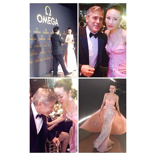 George Clooney expected in Shanghai on 16 May 2014 for Omega celebration - Page 4 Woman10