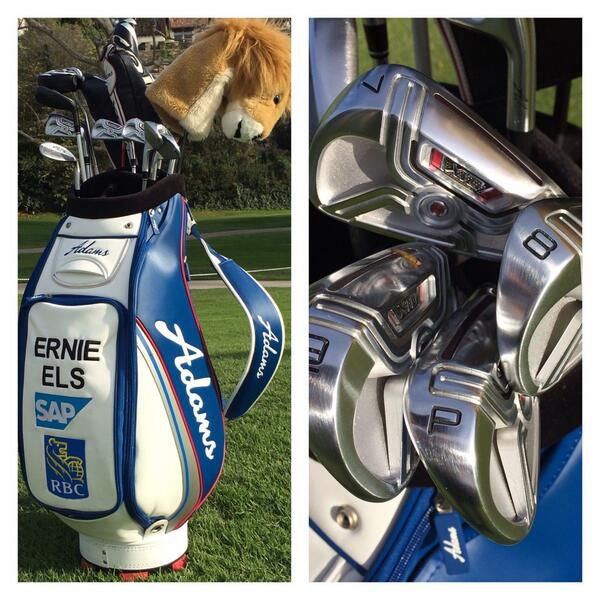 Ernie Els' Irons This Week Adams-10