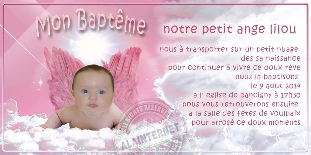 bapteme de LILOU Alaint18