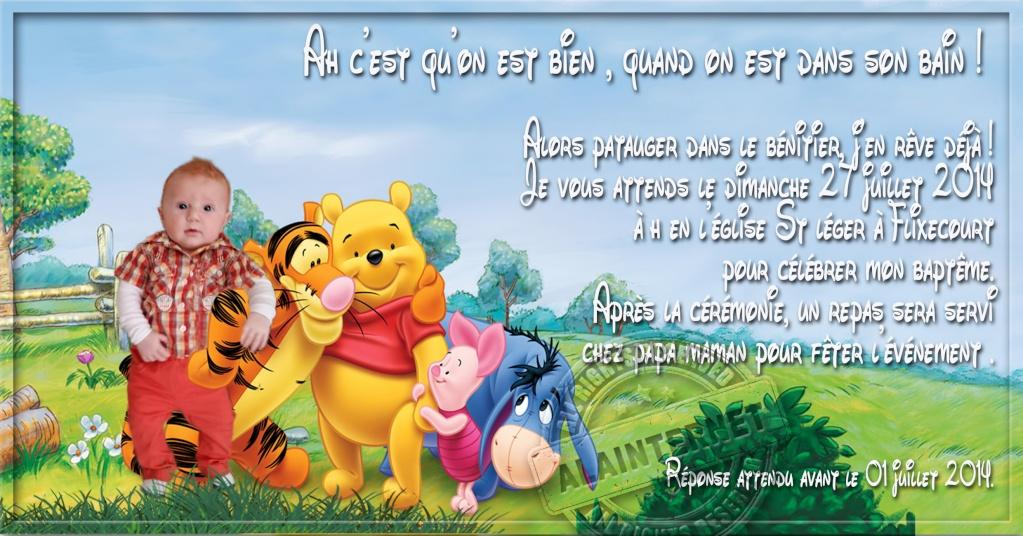 kit baptème winnie l'ourson  Alaint24