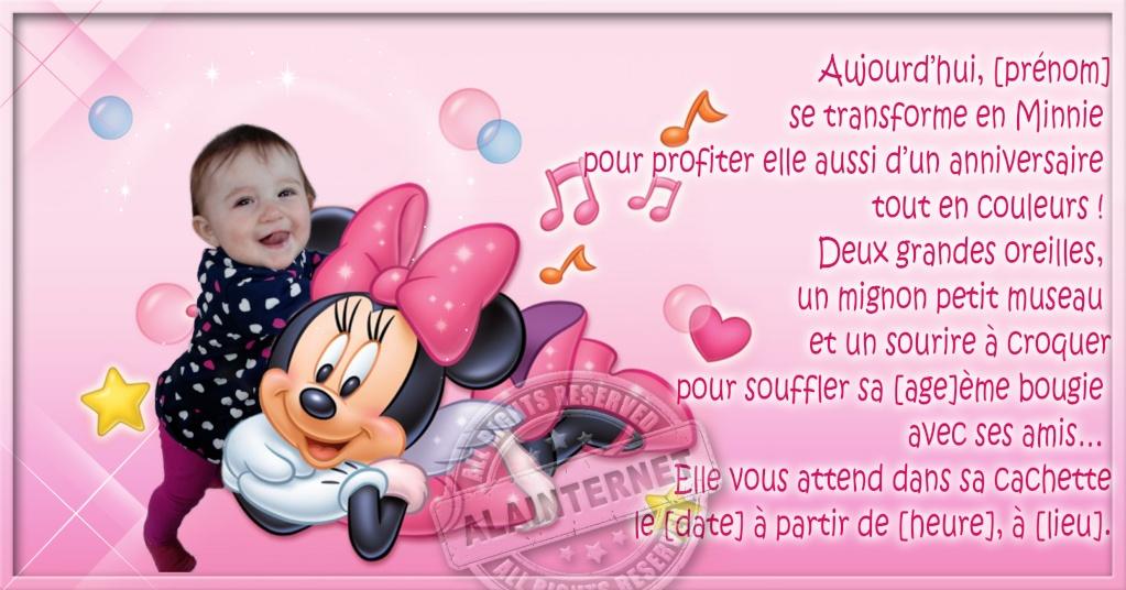 anniversaire minnie Alaint29