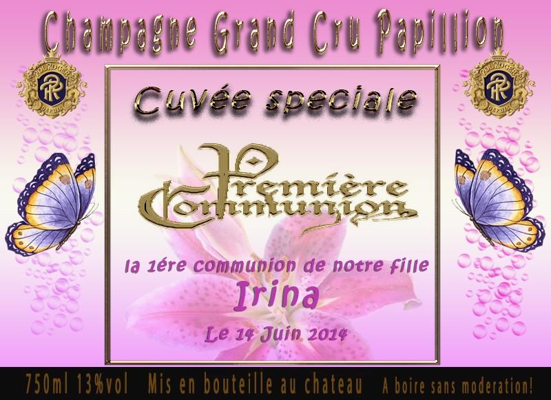 Carte d invitation Champa13
