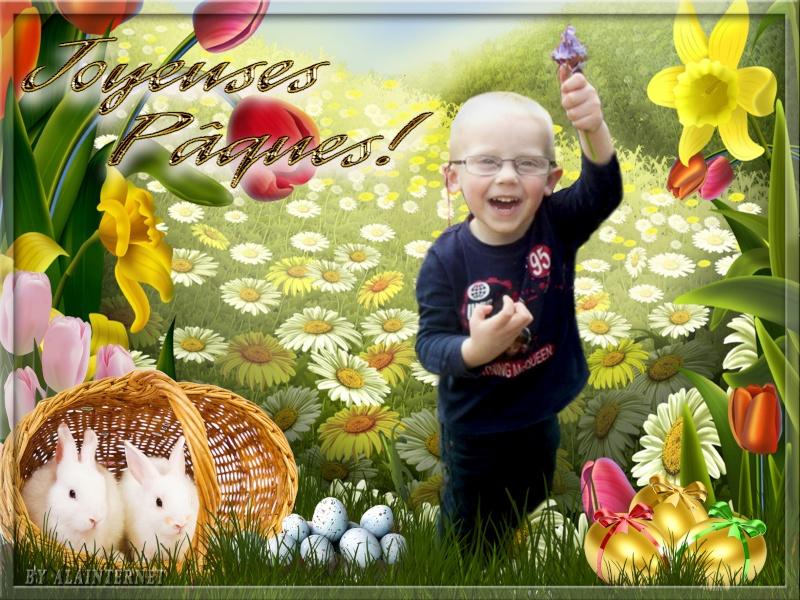 Montage pour pâques  Easter15
