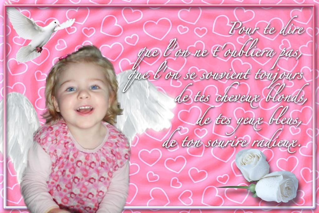 demande de montage pour un deuil petite princesse de 2 ans ... Essais11