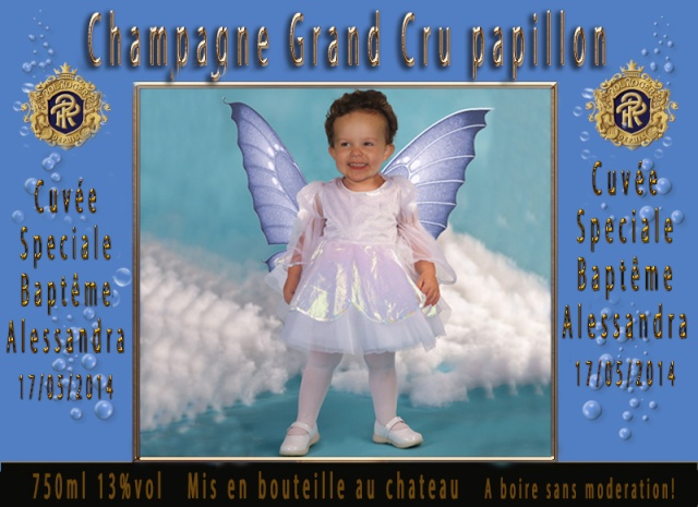 billet baby sitting parrain marraine Etique37