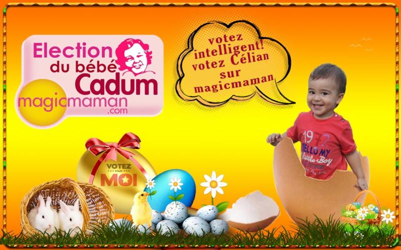 montage Pâques avec le logo bébé cadum Happy_15