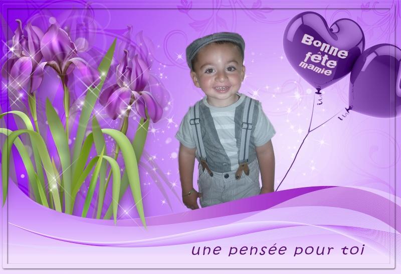 Bonjour Alain ( Fete des Grands Mere) Iris3310
