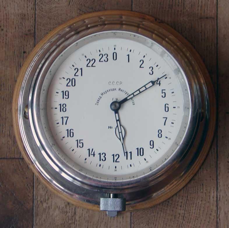 Horloge des Sous-Marins Russe et Soviétique  Boatcl10