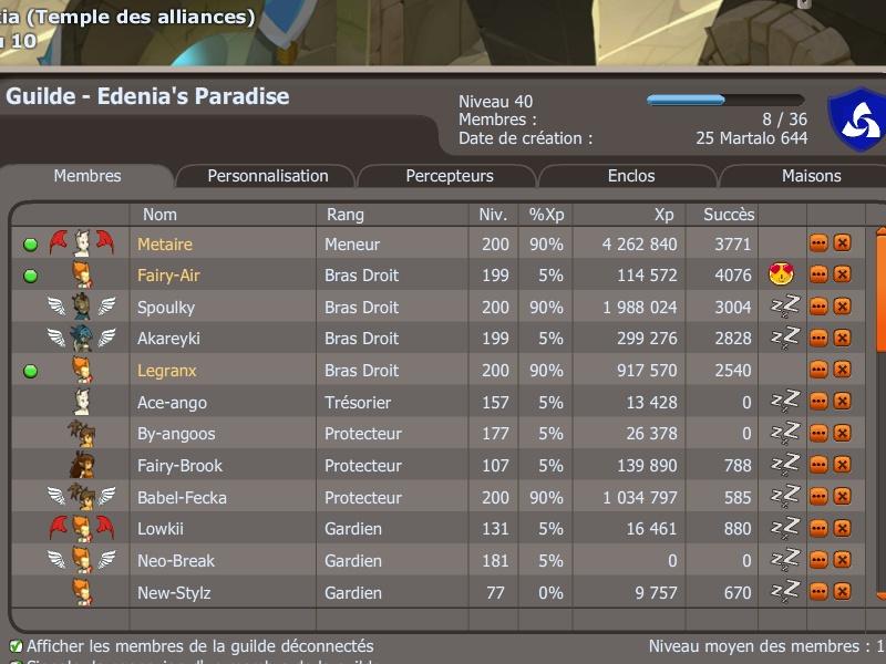 Candidature de la guilde <<Edenia's Paradise>> Screen11