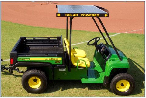 Toit avec cellules solaires pour Gator TE Solar_10