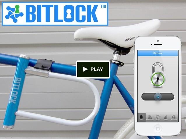 [INFO] BITLOCK, projet Kickstarter : Moderniser le cadenas de votre vélo grâce au Bluetooth Screen12